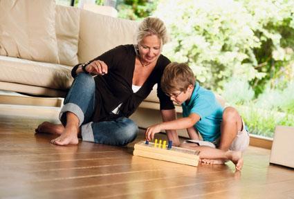 Heizungs-Modernisierung - Fußbodenheizung