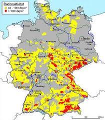 radon karte bayern Radon radon karte bayern