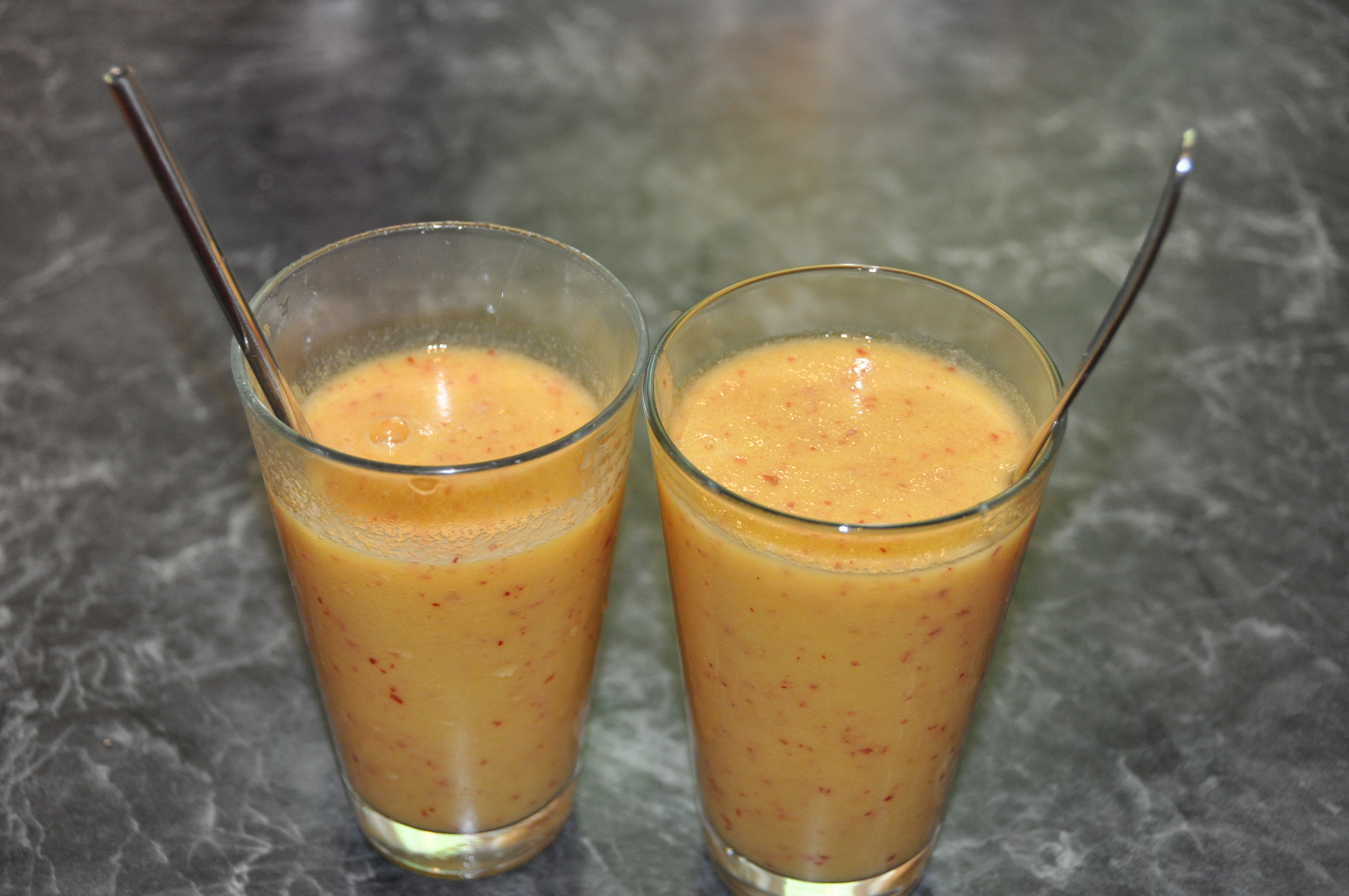Nektarinen-Apfel-Smoothie